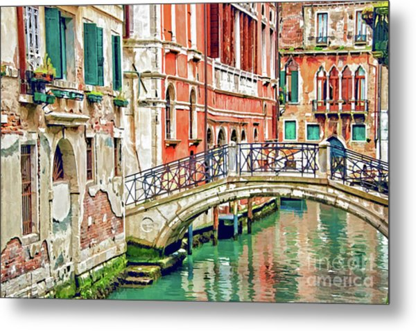 Lost In Venice Metal Print