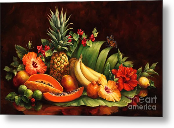 Lots Of Fruit Metal Print