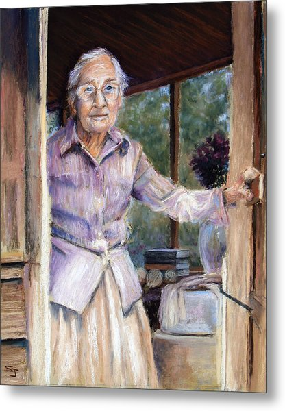 Lottie The Faithful Servant Metal Print