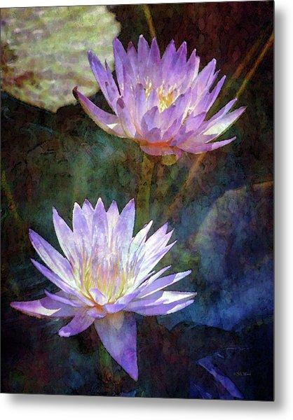 Lotus Reflections 2980 Idp_2 Metal Print