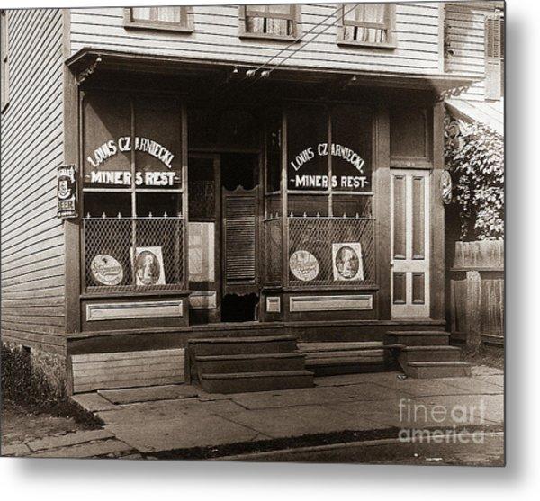 Louis Czarniecki Miners Rest 209 George Ave Parsons Pennsylvania Metal Print