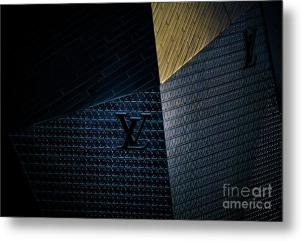 Louis Vuitton At City Center Las Vegas Metal Print