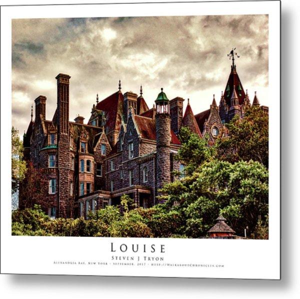 Louise Metal Print by Steven Tryon