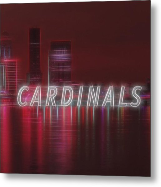 #louisville #cardinals Metal Print