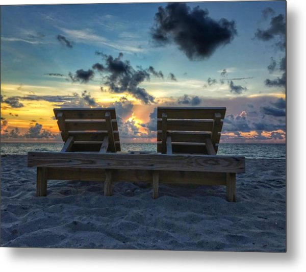 Lounge For Two Metal Print