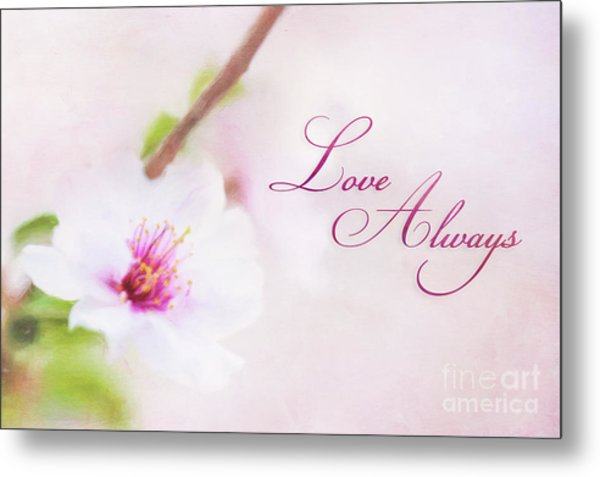 Love Always Metal Print