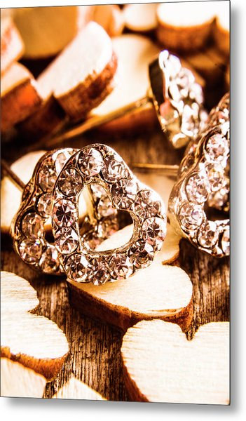Love And The Jewellery Store Metal Print
