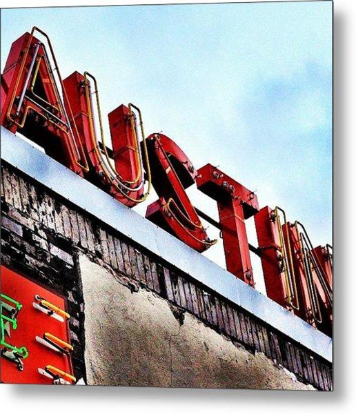 Love #austin Metal Print
