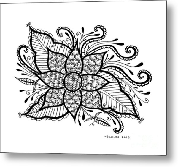 Love Blooms Metal Print