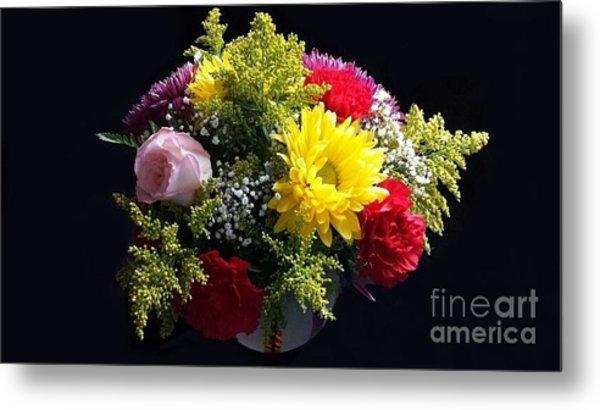 Love Bouquet Metal Print