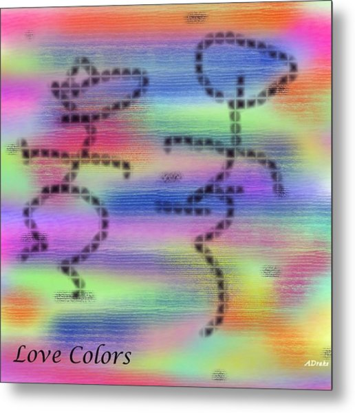 Love Colors Metal Print