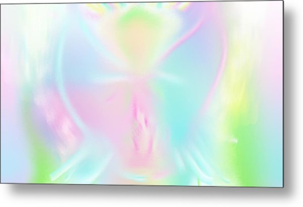 Love Conciousness Metal Print by Rosana Ortiz