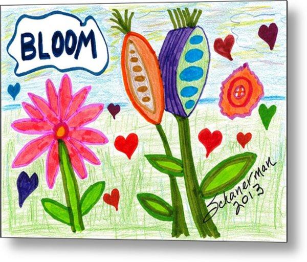 Love In Bloom Metal Print