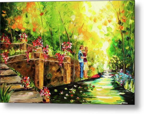 Metal Print featuring the painting Love by Kevin Brown
