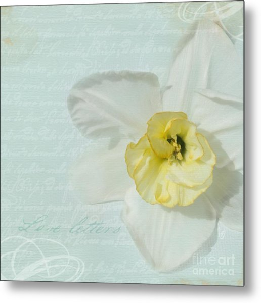 Love Letters From A Spring Romance Metal Print