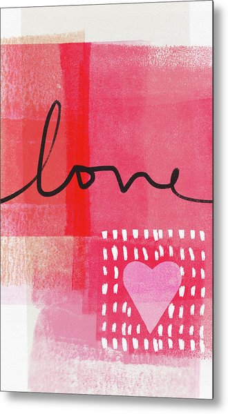 Love Notes- Art By Linda Woods Metal Print
