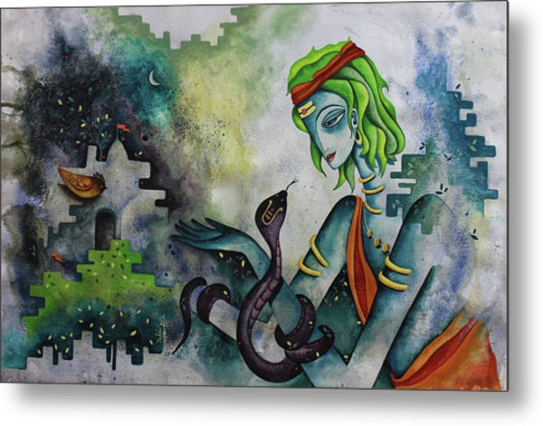 Love Of Shiva Metal Print