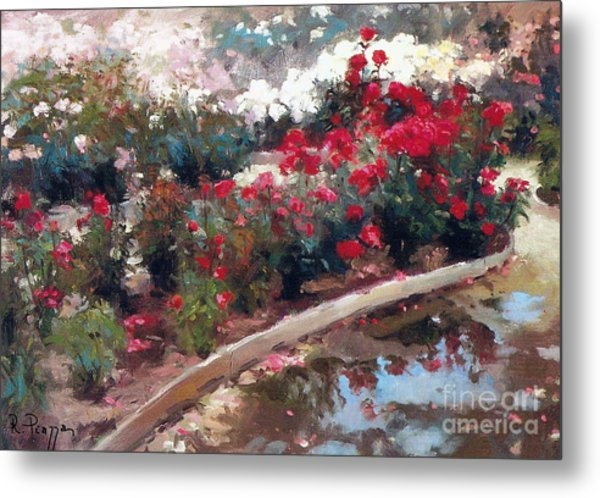 Metal Print featuring the painting Love by Rosario Piazza