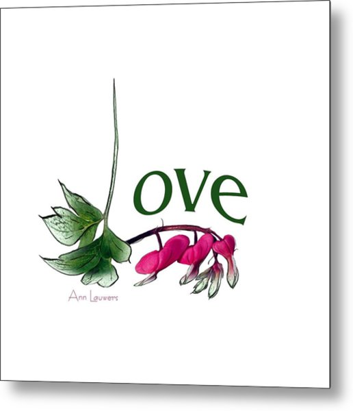 Love Shirt Metal Print