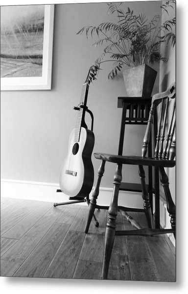 Love Strings Metal Print