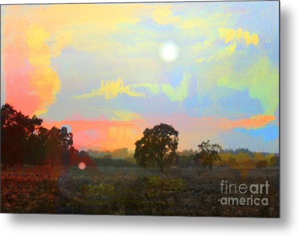 Love The Magic Hours Metal Print