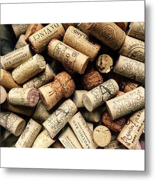 Love Wine! #wine #juansilvaphotos #cork Metal Print