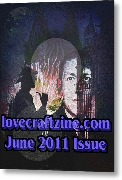 Lovecraftzine Coverpage June Metal Print