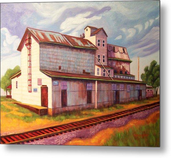 Loveland Feed And Grain Mill Metal Print