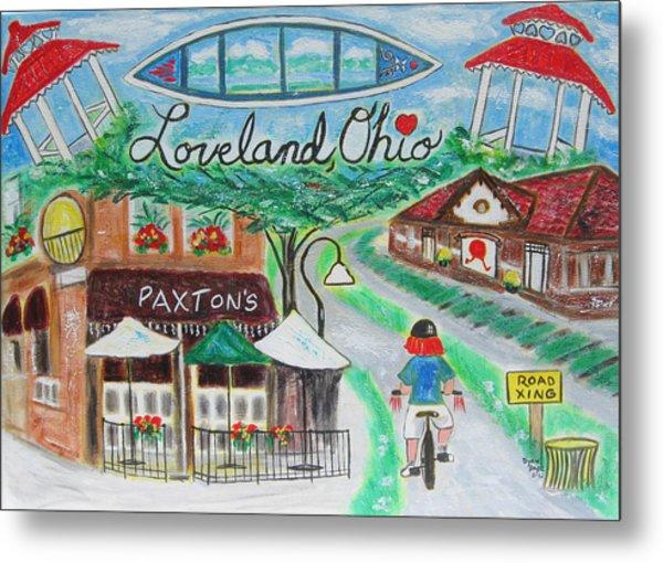 Loveland Ohio Metal Print