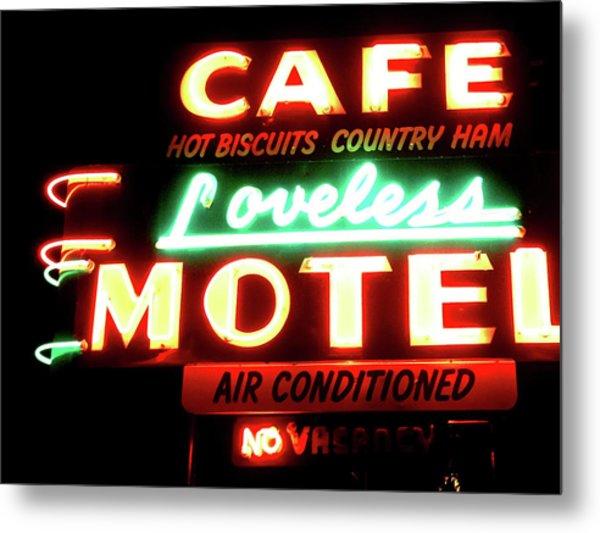 Loveless Cafe- Art By Linda Woods Metal Print