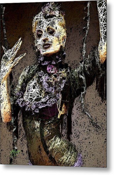 Lovely Agony Metal Print