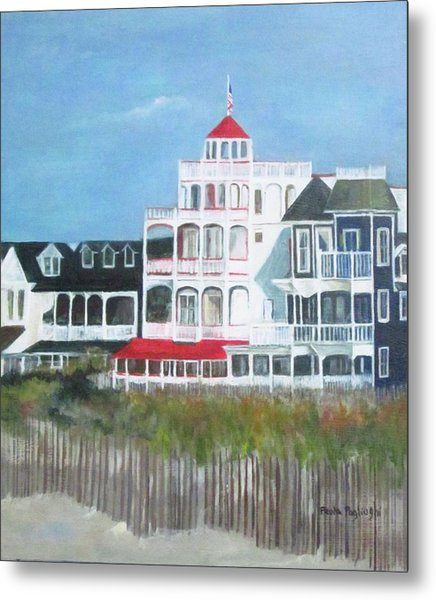 Lovely Cape May Metal Print
