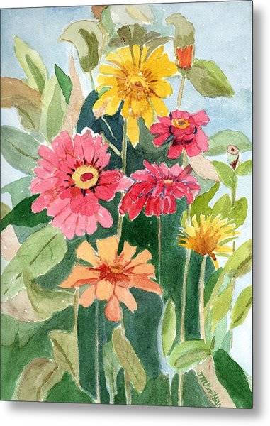 Lovely Flowers Metal Print