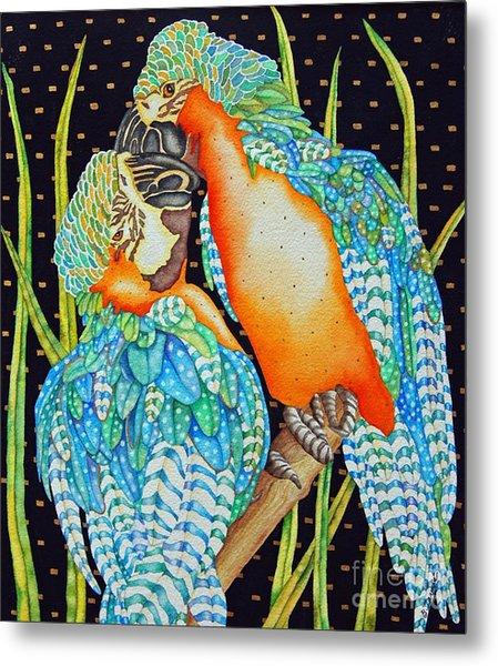 Loving Birds Metal Print by Gail Zavala