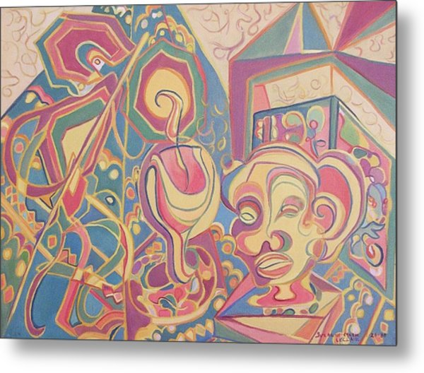 Loving Colors Metal Print by Suzanne  Marie Leclair