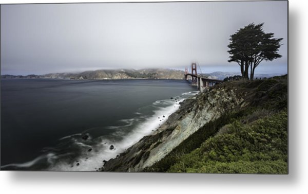 Low Cloud Metal Print