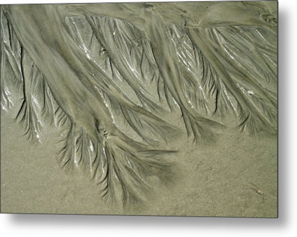 Low Tide Abstracts Iv Metal Print