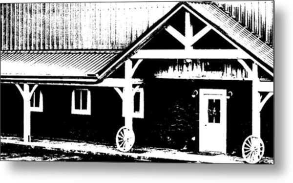 Lower Barn Metal Print by Brian Foxx