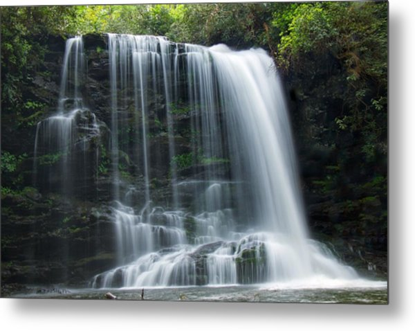Lower Bearwallow Falls Metal Print