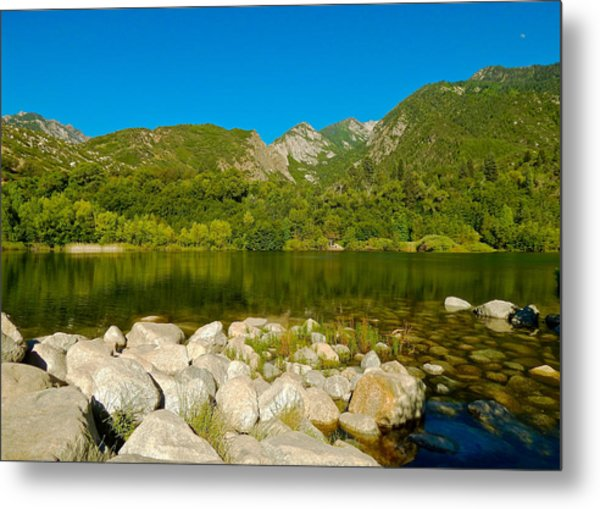 Lower Bells Canyon Reservoir Metal Print