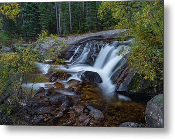 Lower Copeland Falls Metal Print
