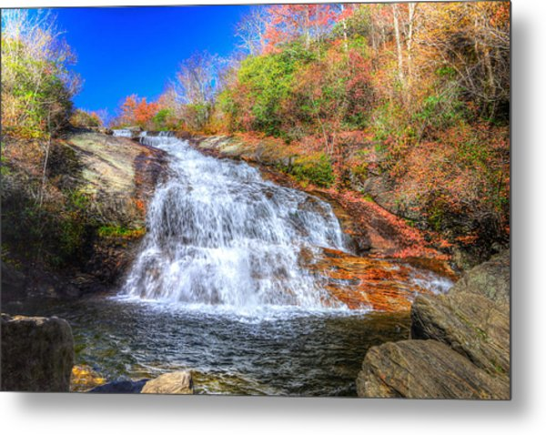 Lower Falls At Graveyard Fields Metal Print