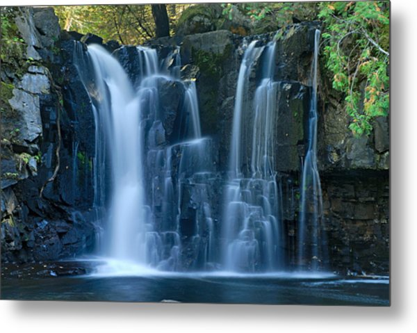 Lower Johnson Falls 2 Metal Print