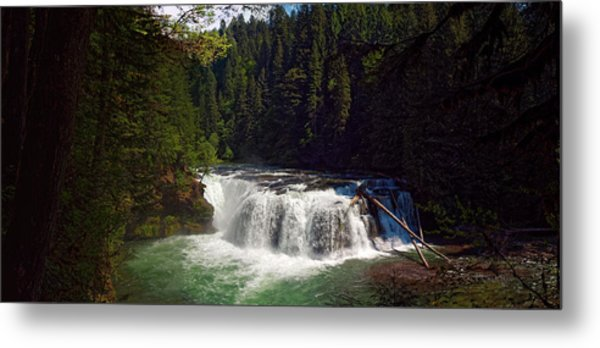 Lower Lewis Falls Metal Print