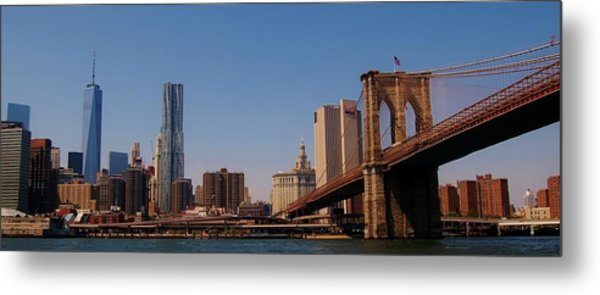 Lower Manhattan Nyc Metal Print