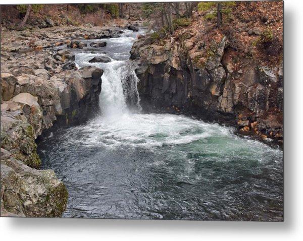 Lower Mccloud Falls Metal Print