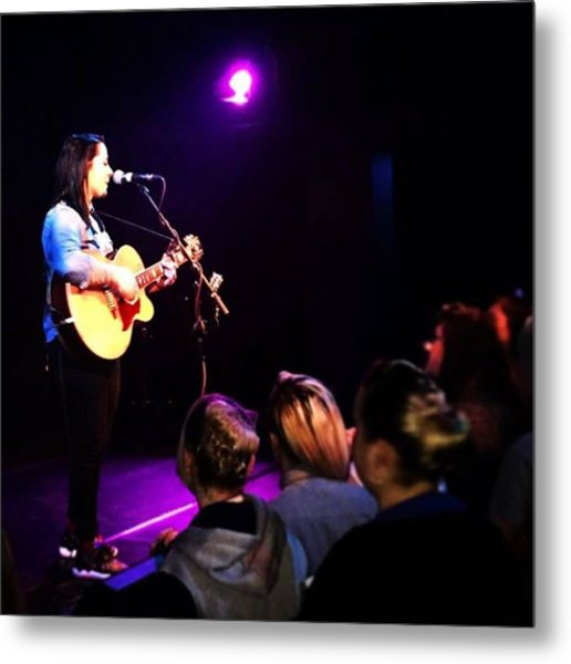 @lspraggan #hometour #home #livemusic Metal Print by Natalie Anne
