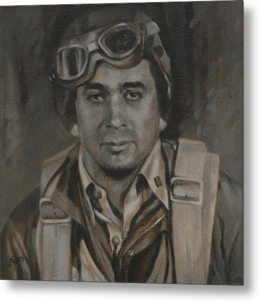 Lt Commandor Joe Gibson Metal Print