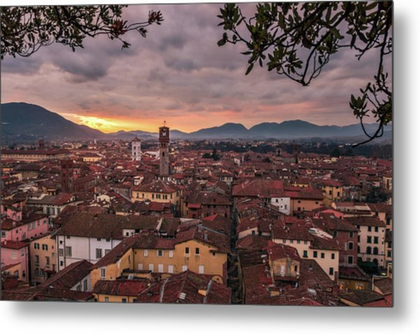Lucca In Tuscany Metal Print