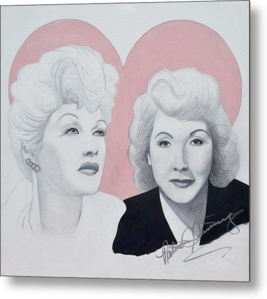 Lucille And Vivian Metal Print